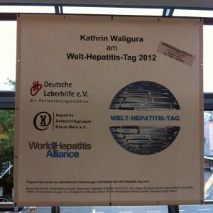 Welt-Hepatitis-Tag 2012 in Wiesbaden